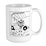 Car Repair for Dummies Large Mug