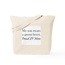 Green Beret Mom Tote Bag