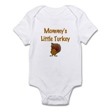 Mommy's Little Turkey Infant Bodysuit