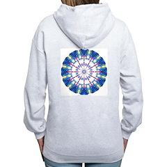 Viobot Mandala #3 Women's Zip Hoodie