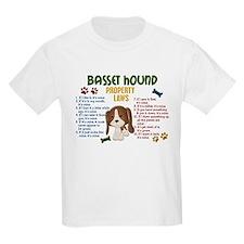 Basset Hound Property Laws 4 T-Shirt