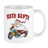 Biker Santa Mug