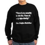 MacArthur Opportunity Quote Sweatshirt (dark)