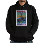Careless Work Warning Poster Hoodie (dark)
