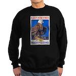 Keep Him Free Eagle Sweatshirt (dark)