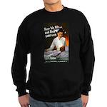 Be A Nurse Sweatshirt (dark)