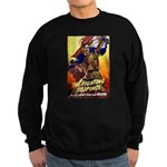Fighting Filipinos Military S Sweatshirt (dark)