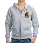 Fighting Filipinos Military S Women's Zip Hoodie