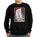 Books Are Weapons Poster Art Sweatshirt (dark)