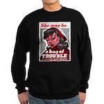 No Bad Evil Women Sweatshirt (dark)