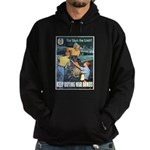 Sky's the Limit Poster Art Hoodie (dark)