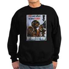 Gunner Buy Bonds on Payday Sweatshirt