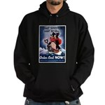 Don't Shiver Winter Poster Ar Hoodie (dark)