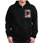 Join the Navy Zip Hoodie (dark)