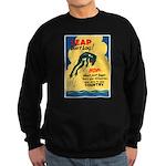 Leap Don't Lag Frog Sweatshirt (dark)