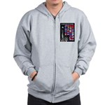 United Nations Freedom Zip Hoodie