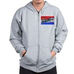 Camp Barkeley Texas Zip Hoodie