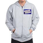 Biggs Field Texas Zip Hoodie