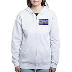 Fort Custer Michigan Women's Zip Hoodie