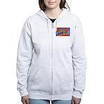 Fort Jackson South Carolina Women's Zip Hoodie