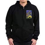 Fort Knox Kentucky Zip Hoodie (dark)