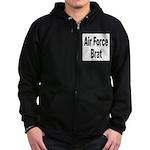 Air Force Brat Zip Hoodie (dark)