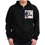 Go Air Force Zip Hoodie (dark)