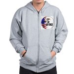 Go Air Force Zip Hoodie