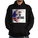 Go Air Force Hoodie (dark)