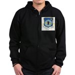 Air Intelligence Agency Zip Hoodie (dark)
