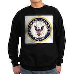 United States Navy Emblem Sweatshirt (dark)