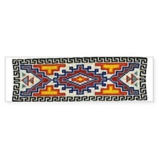 Beaded Tribal Band Bumper Bumper Sticker