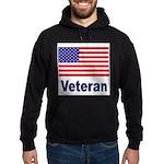 American Flag Veteran Hoodie (dark)