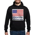 Afghanistan Veteran Hoodie (dark)