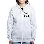 Event Staff Women's Zip Hoodie