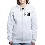 FBI Federal Bureau of Investi Women's Zip Hoodie