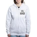 Civil Engineer Women's Zip Hoodie