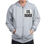Civil Engineer Zip Hoodie