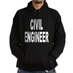 Civil Engineer Hoodie (dark)