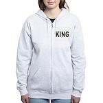 King Women's Zip Hoodie