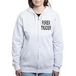 Forex Trader Women's Zip Hoodie