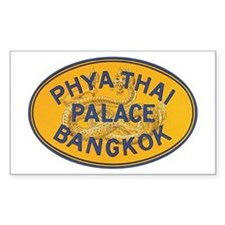 Bangkok Thailand Rectangle Decal
