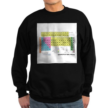 Periodic Table Cheat Sweatshirt (dark)