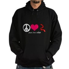 Peace, Love, Twilight Hoodie