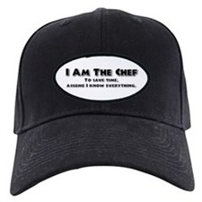 I am the Chef Baseball Cap