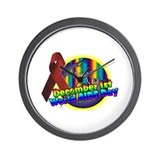 world AIDS day 2 Wall Clock