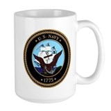 US Navy Logo Mug