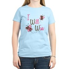 I Will Win 1 Butterfly 2 BreC T-Shirt