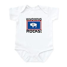 Wyoming Rocks! Infant Bodysuit