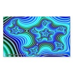 Fractal S~11 Rectangle Sticker (10 pack)